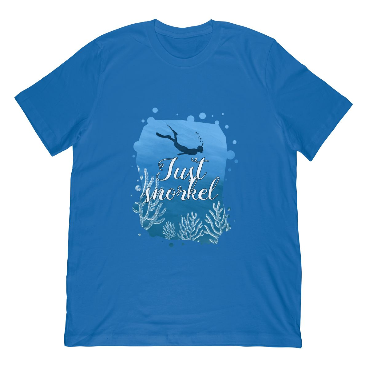 Snorkeling Shirt Just Snorkel