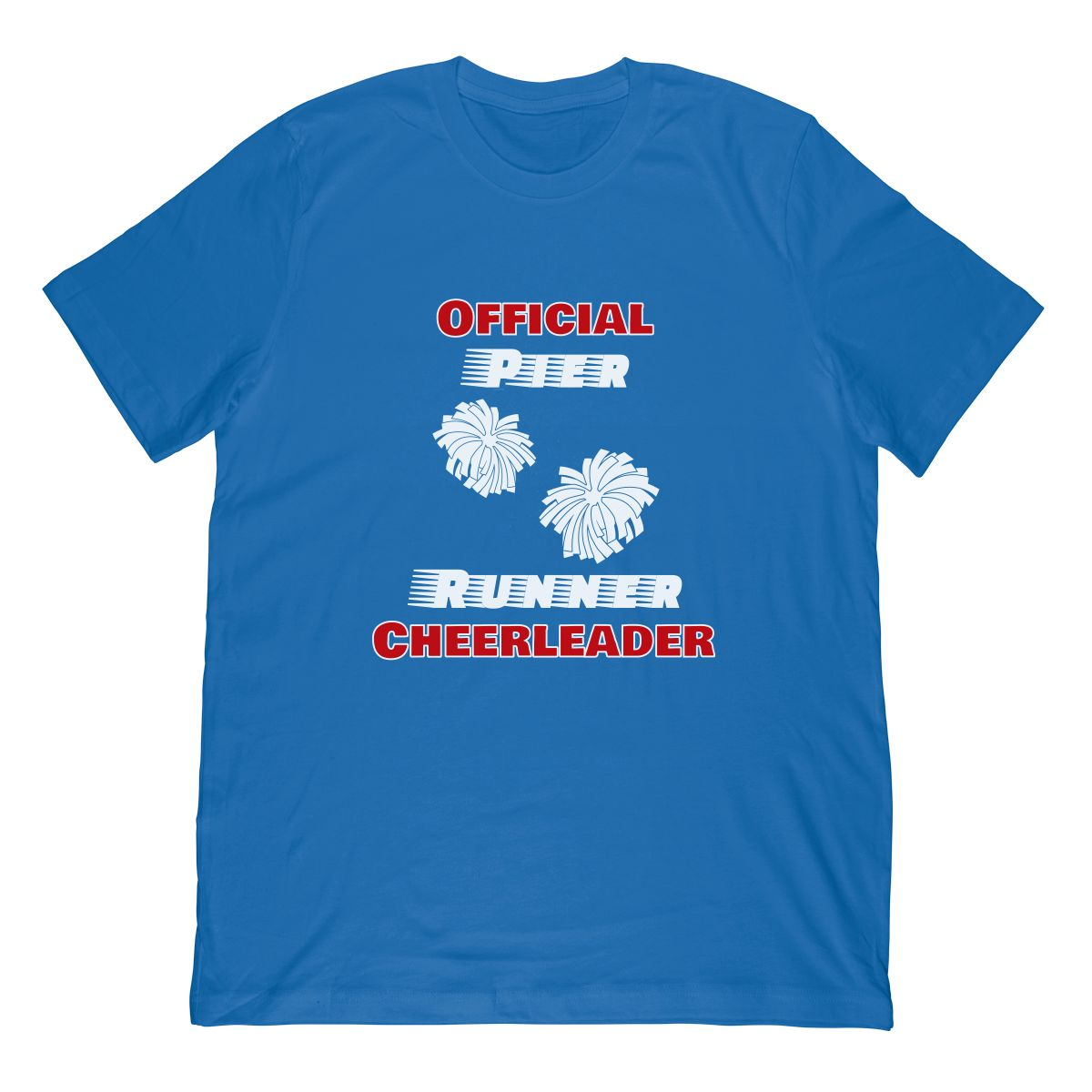 Cruise Fun Official Pier Runner Cheerleader Pom Pom T shirt