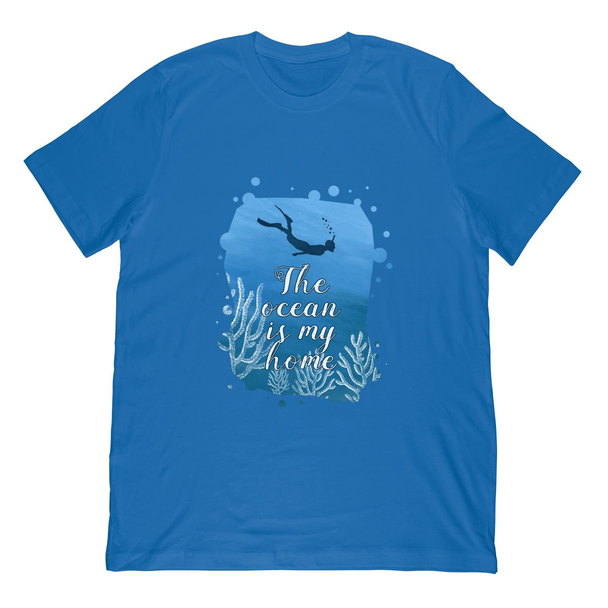 Snorkeling Shirt The Ocean is My Home