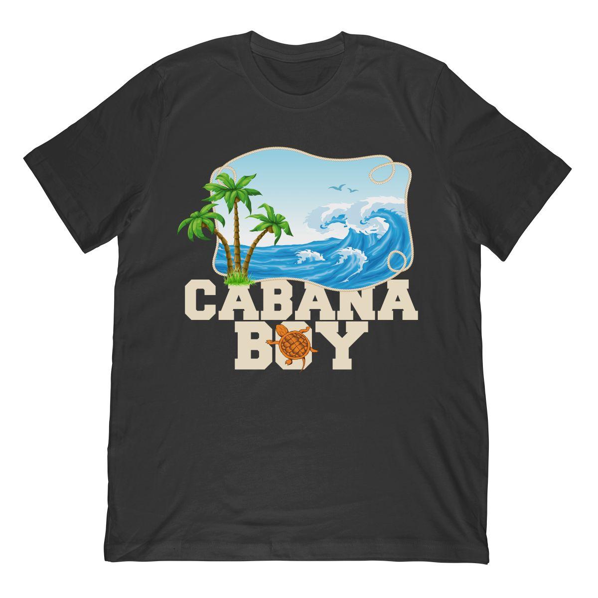 Cabana Boy Beach Cruise Tshirt