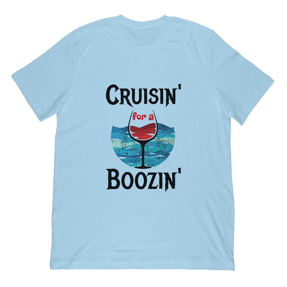 Cruisin' For A Boozin' Cruise Ship Tshirt