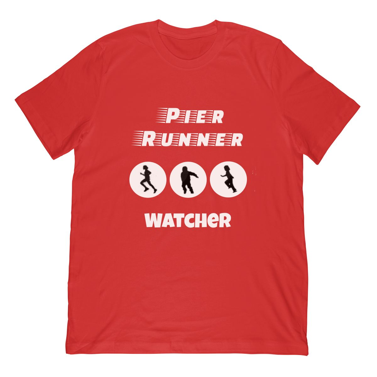 Funny Cruise Pier Runner Watcher Tshirt