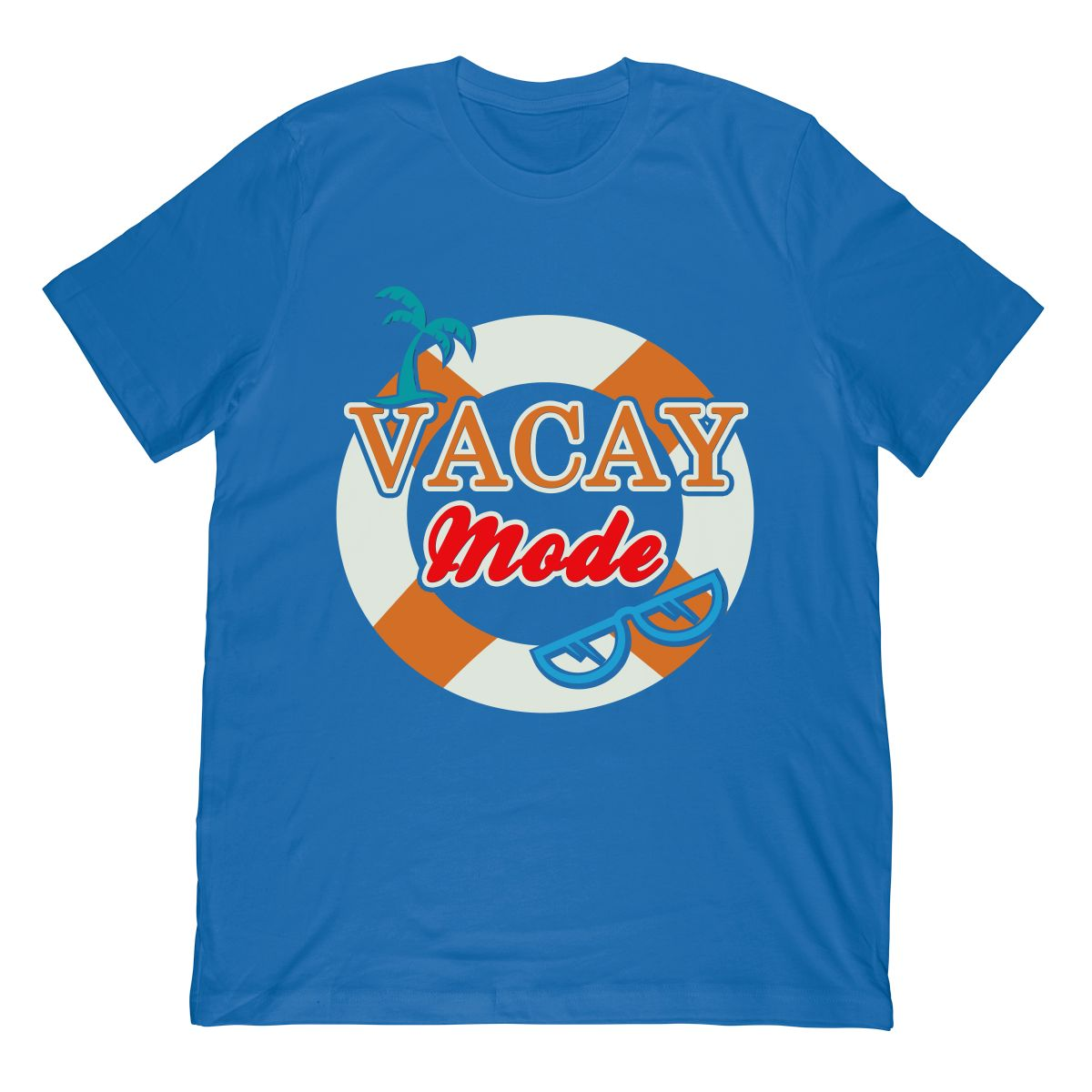 Cruise Vacation Vacay Mode Colorful T shirt